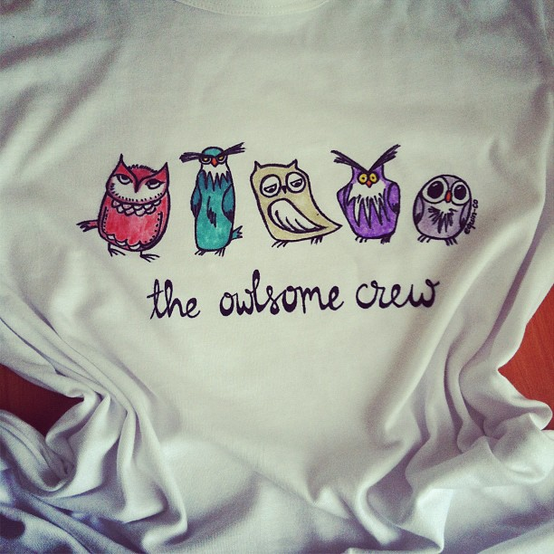 The Owlsome Crew hired new members!  (6/6)