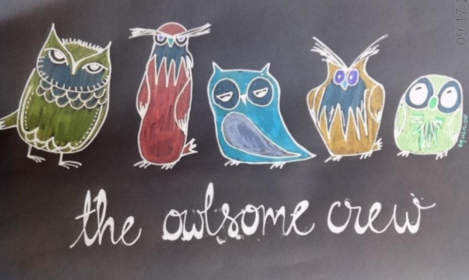 The Owlsome Crew hired new members!  (1/6)